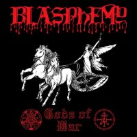 BLASPHEMY (Can) - Gods Of War, GFLP (red) + Patch