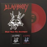 BLASPHEMY (Can) -  Blood Upon The Soundspace, (Die hard red vinyl) EP + Patch