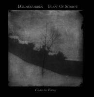 BLAZE OF SORROW (Ita) / DÄMMERFARBEN (Ger) - Geister des Winters, SplitGFLP (white vinyl with black marbling)