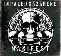IMPALED NAZARENE (Fin) - Manifest, (Yellow Galaxy LP)