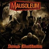 MAUSOLEUM (USA) / HAEMOPHAGUS (Ita) - Slime / Intense Mortification, EP