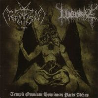 TERATISM (USA) / LUGUBRE (Hol) - Templi Omnium Hominum Pacis Abhas, SplitCD