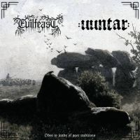 EVILFEAST (Pol) / UUNTAR (Hol) - Odes to Lands of Past Traditions, CD