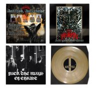 ACHERON (USA) - Anti-God, Anti-Christ LP (Gold)