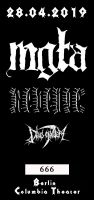 Mgla // Revenge // Deus Mortem - Columbia Theater, eTicket