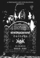 Misþyrming, Darvaza, Vortex of End - Nuke Club, eTicket (Selbabholung)