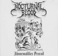 NOCTURNAL BLOOD (USA) - Abnormalities Prevail, CD