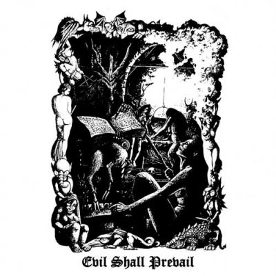 BLACK WITCHERY (USA) - Evil Shall Prevail, CD